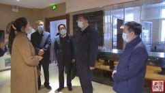 王立奇在肃州区调研疫情防控工作